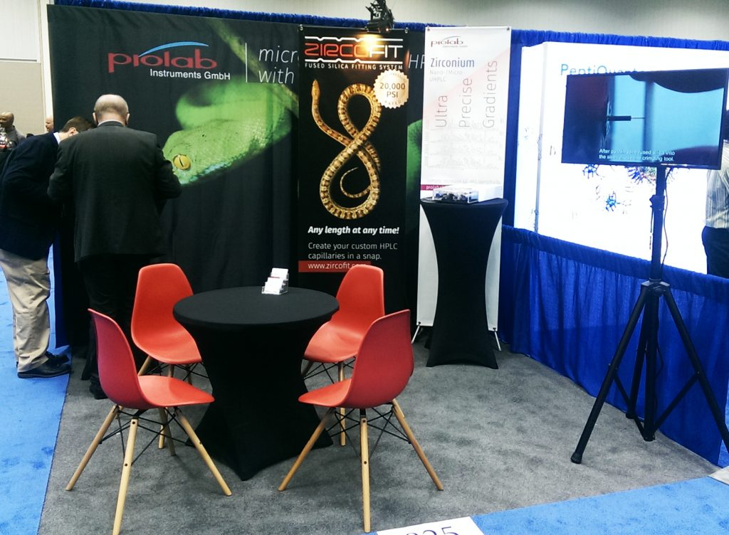 Prolab Booth at ASMS 2017