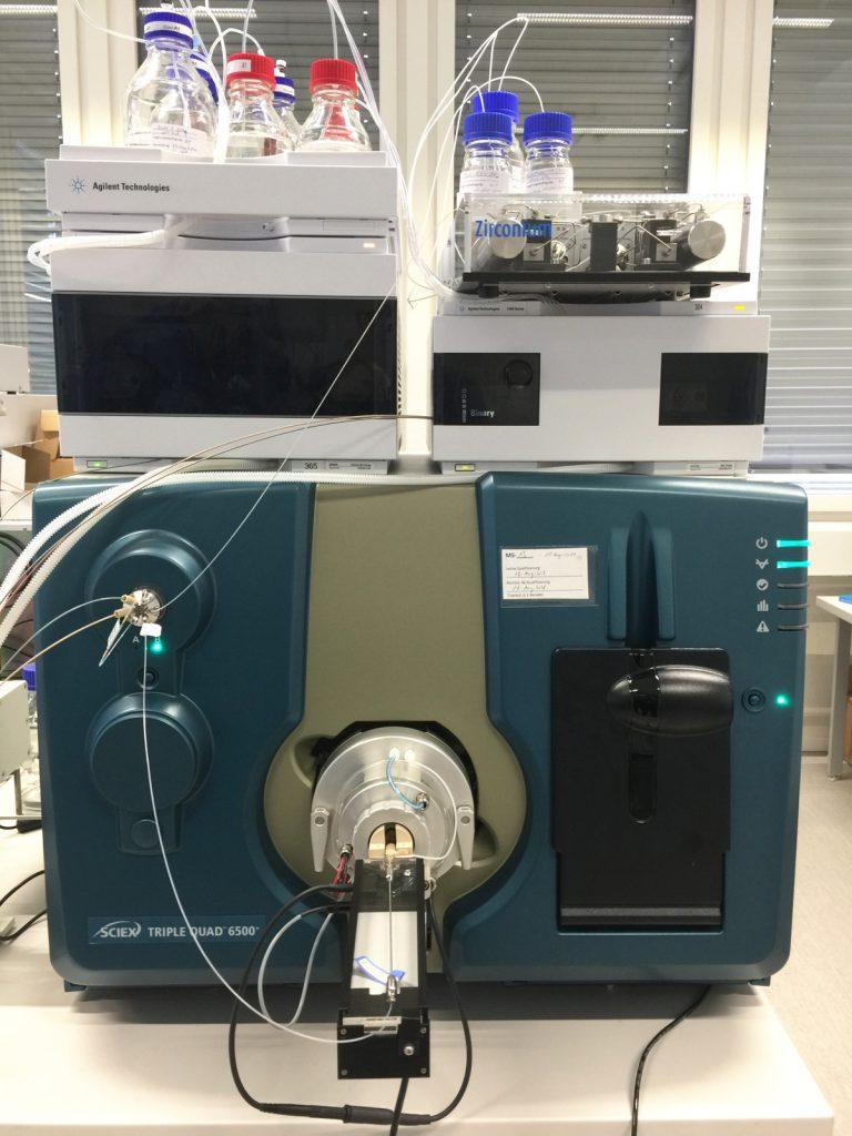 Microflow setup
